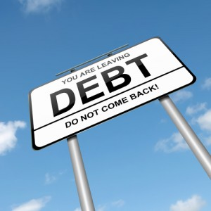 leaving debt sign1 300x300 Small Business Debt